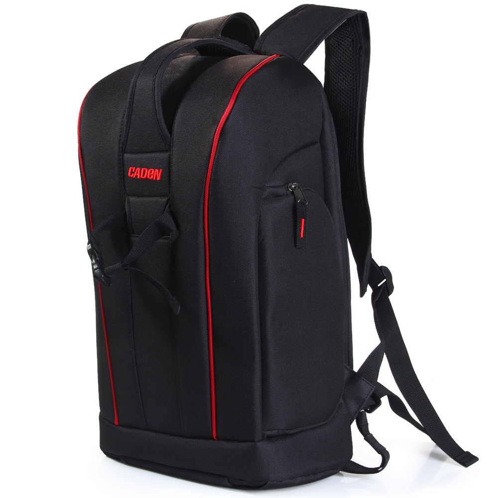 Caden K6 Backpacks Bags of Big Black Camera Photo Shoulders Polyester Men Women Digital Camera Case Backpack For Canon Nikon