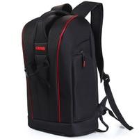 Caden K6 Backpacks Bags Of Big Black Camera Photo Shoulders Polyester Men Women Digital Camera Case