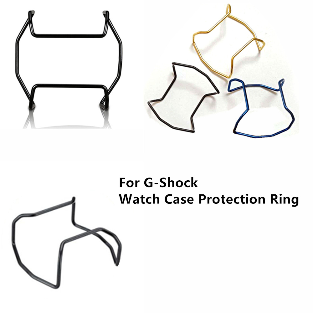 Watch Case Protection Ring Stainless Steel Watch Case Bumper For G-Shock 5600/5000/5030/6900/GA100/110/120/GWG1000/GX56/<font><b>GG1000</b></font> image