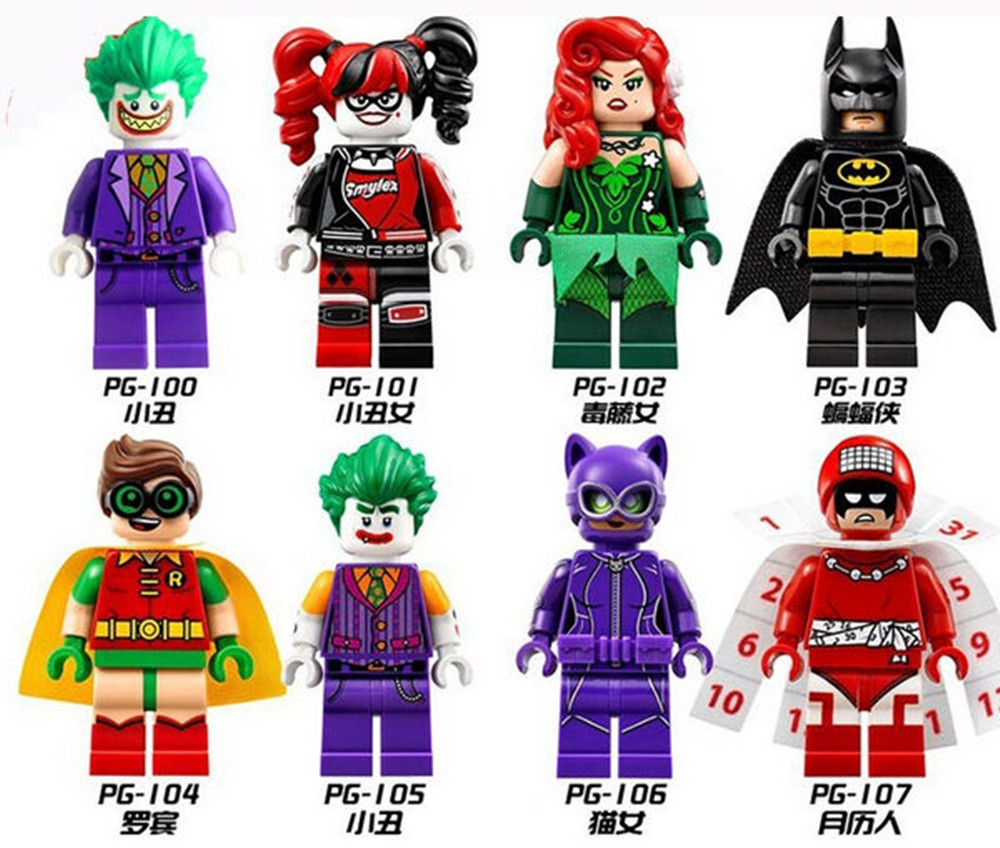 Building Blocks Brinquedos Model set Figures Toys Batman movie super hero compatible with Legoings For boys/girls gifts