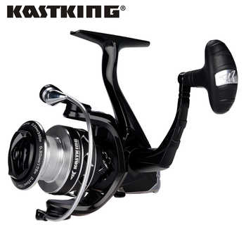 KastKing Eagle Carbon Spinning Reel 11 Ball Bearings Smooth Fishing Reel with 10KG Max Drag for Saltwater Freshwater Fishing - DISCOUNT ITEM  48% OFF Sports & Entertainment