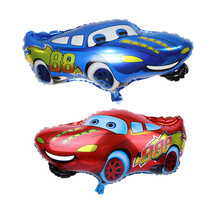 New cartoon car, Mai Kun, aluminum BALLOON Birthday Party Balloon wholesale cartoon toy