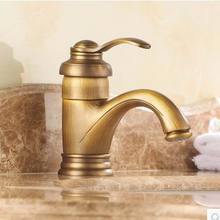 Nordique Européenne maison pleine de antique salle de bains de cuivre robinet Américain rétro pays style Villas De Luxe décoration livraison gratuite