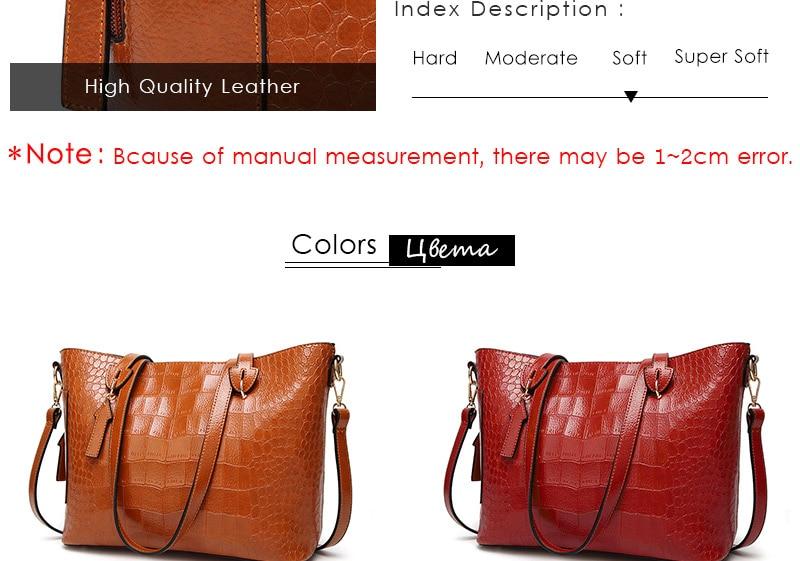 alligator crossbody bag for women shoulder bag female handbag ladies elegant shopping bag_04