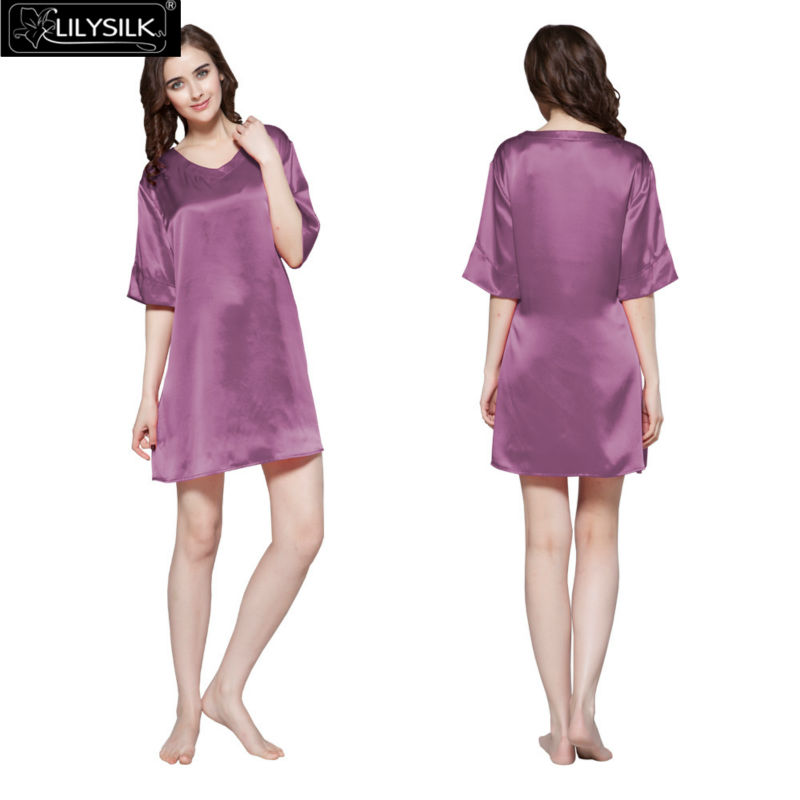 1000-violet-22-momme-wide-v-neck-silk-nightgown