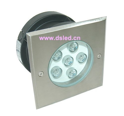Square,stainless steel, high power,underground  6W LED spotlight,LED outdoor light,DS-11S-12-6W110-250VAC,IP67,good qualitySquare,stainless steel, high power,underground  6W LED spotlight,LED outdoor light,DS-11S-12-6W110-250VAC,IP67,good quality