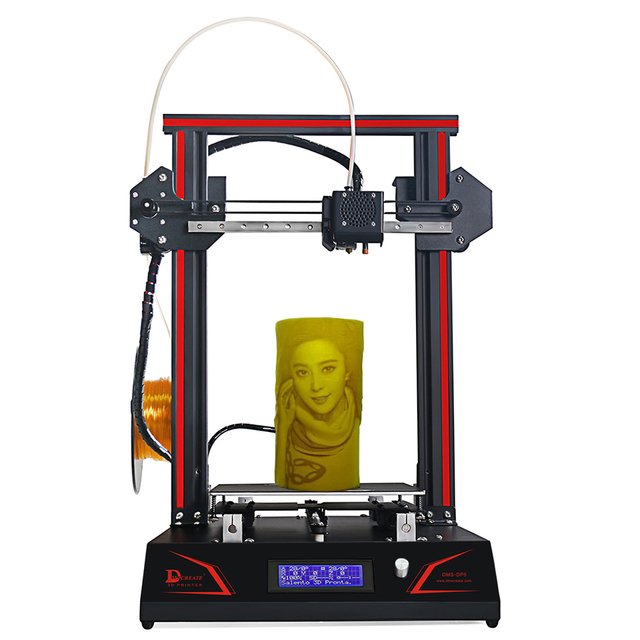 DMSCREATE DP5 3D Printer kits full metal frame with pre assembly ...