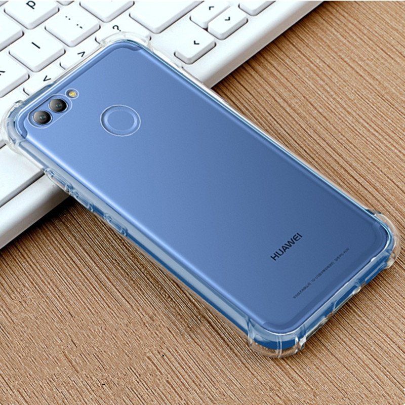 360 Drop Protection Soft Clear TPU case for huawei Nova 2 case Nova 2i Case Cover For Honor 9 Case For Honor 7X 6C pro 6A glass