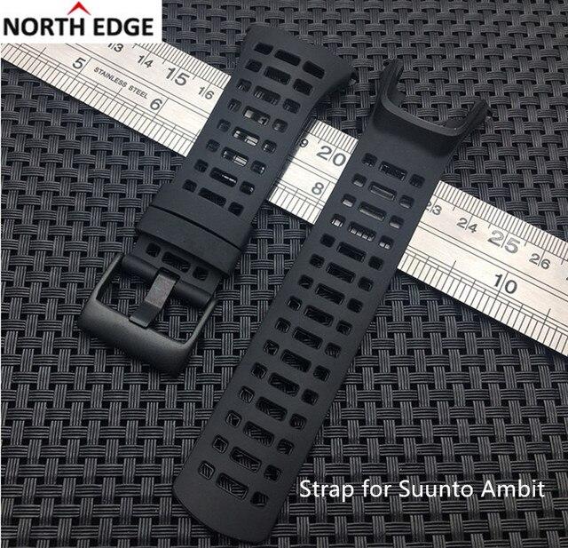 530474800aa Pulseira de Silicone de borracha substituição relógio band correia para  ambit Suunto Ambit 3 pico pulseira