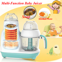 1pc Baby Intelligent Assist Food Machine Electric Boiling Stiring Automatic Multi function Meat Grinding Juicer FSJ D1