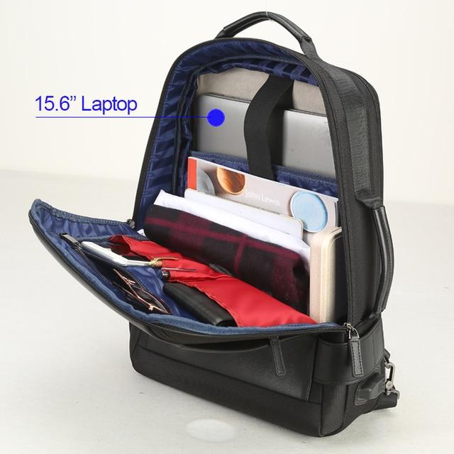BOPAI Brand Enlarge Backpack USB External Charge 15.6 Inch Laptop Backpack Shoulders Men Anti-theft Waterproof Travel Backpack 4