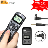 Pixel TW 283 N3 TW283 Wireless Timer Remote Control Shutter Release For Canon 5D3 5D2 5D