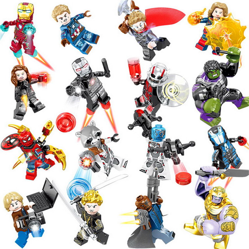 16pcs//lot Red Battle Droid Action Figure Superhero Lego Minifigure Toys