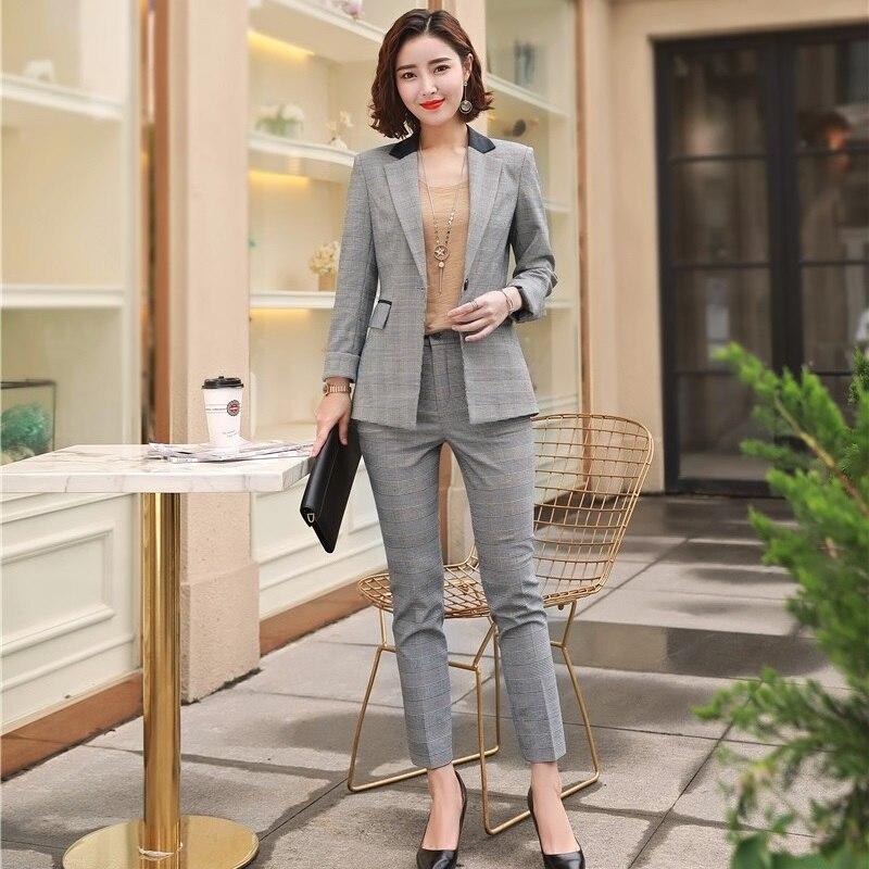 Donne Manica Lunga Slim Fit attivit/à Commerciale Ufficio Formale Blazers Giacche