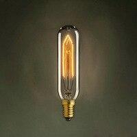 LightInBox 무료 배송 백열 전구 E14 레트로 에디슨 전구 AC 220 볼트 거실 E14 T10 40