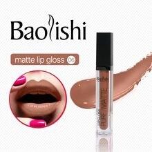 baolishi Non-stick cup matte Lip gloss Waterproof Tint Nude liquid lipstick Full color lipgloss Brand Makeup cosmetics