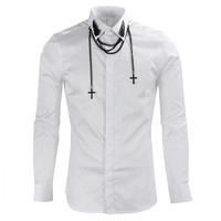 Fashion Casual Man White Business Shirts Latest Shirt Designs For Men Formal Shirt Premium Quality Newest