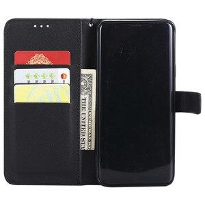 Кожаный чехол для телефона Samsung Galaxy A6 A8 Plus J2 J4 J6 J8 2018 J1 J3 J5 J7 2016 A7 A3 A5 2017 откидной Чехол-кошелек с отделением для карт