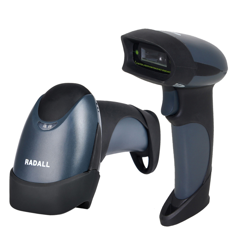 ФОТО Handheld QR 2D Barcode Scanner Bar Code Reader PDF417 Laser USB Mobile Payment Computer Screen &Virtual COM Port on PC -RD-M5