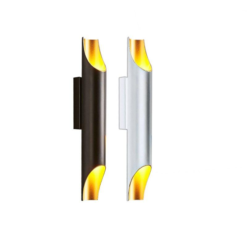 Modern LED Aluminum Wall lamp Up Down AC100V/220V bedside lamp For Bedroom Home Lighting Luminaire Light Fixture Wall SconceModern LED Aluminum Wall lamp Up Down AC100V/220V bedside lamp For Bedroom Home Lighting Luminaire Light Fixture Wall Sconce