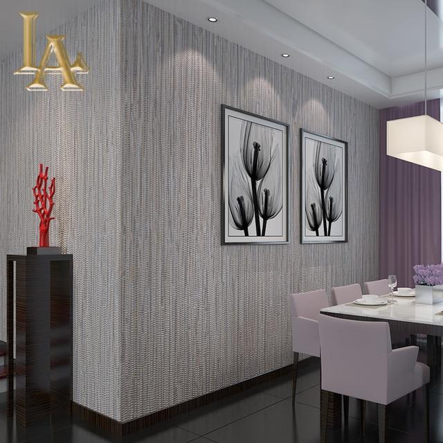 Vlies Wandverkleidung Einfache Strukturierte Gestreifte Tapete Moderne  Wohnkultur Schlafzimmer Wohnzimmer Sofa Beige Grau Wand Papier W146