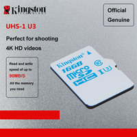 Kingston Digital Micro SD Card 32GB 16GB MicroSDHC UHS I U3 Action Card Class 10 90R