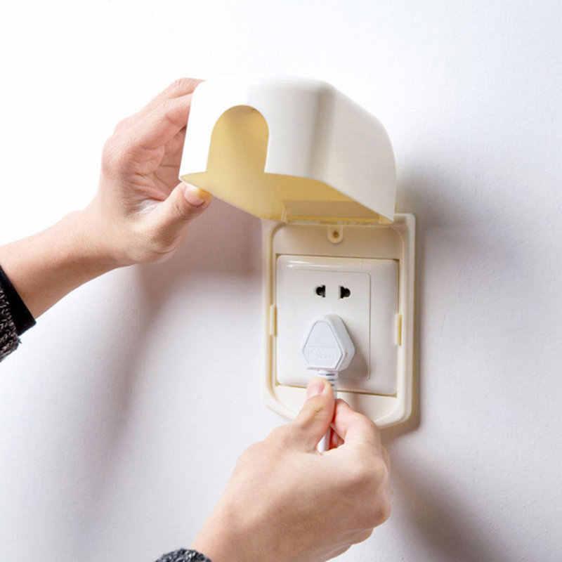 ホット便利なプラスチック反電気ソケットカバー防水と防塵ソケット保護スイッチボックスベビー安全家の装飾