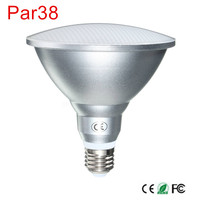 High POWER PAR38 18W Waterproof IP65 LED Spot Light Bulb Lamp Indoor Lighting Dimmable AC85 265V Free shipping