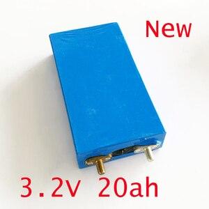 Скидка 40% 20Ah 2 шт. 3,2 В перезаряжаемый LiFePO4 аккумулятор литий-полимерный элемент для 12 В 20A батарейный блок e-bike UPS Power конвертер HID light