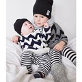 ins* 2016 unisex baby boys girls cotton knitted sweaters kids autumn long sleeve sweater O-neck 1-5Y comfortable free shipping