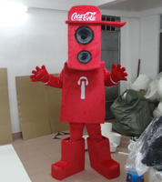 red music baby mascot costumes note costumes