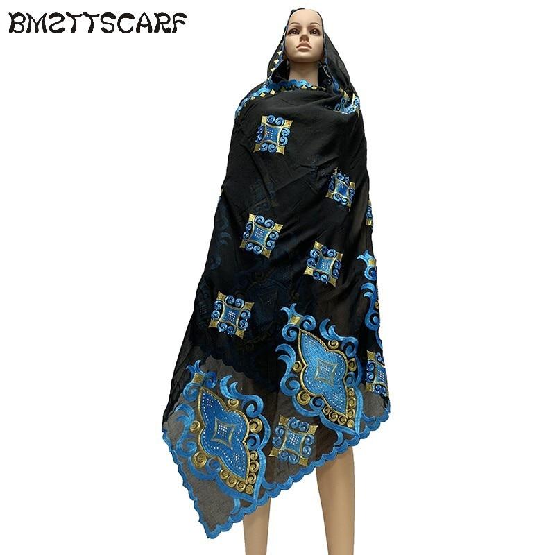 100% COTTON SCARF african scarf muslim women pray scarf big size scarf for shawls BM730