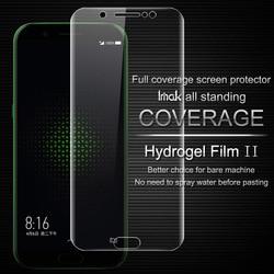 Pełne pokrycie dla Black shark pełny ekran protector Imak wszystkich stałych Hydrogel2 Film dla Blackshark ochrony osłona ekranu film