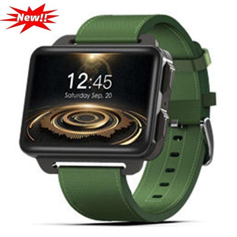 DM99 Montre Smart Watch 2.2 Pouces Écran Moniteur de Fréquence Cardiaque Podomètre Fitness Tracker Caméra 3G GPS Wifi Bluetooth Smartwatch Hombre q18