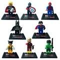 Alianza de la venganza de la super hero juego completo de 8 Montaje De bloques de construcción de juguete Un nuevo regalo para niños