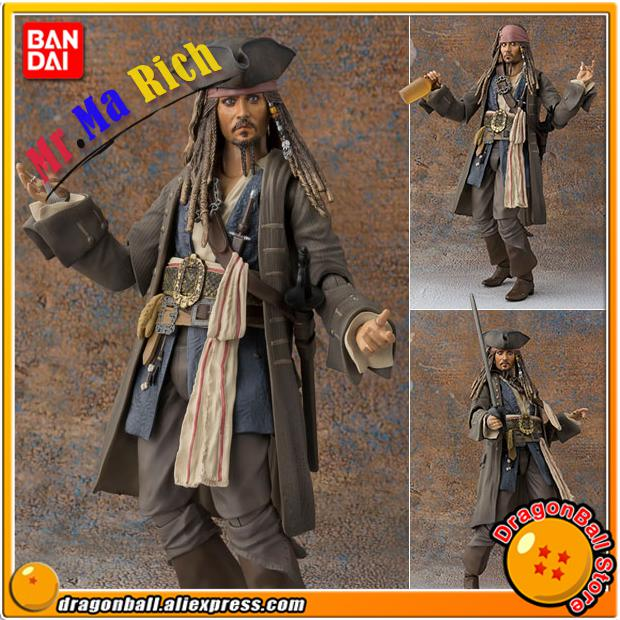 Pirates Of The Caribbean: Dead Men Tell No Tale Original Bandai Tamashii Nations S.h.figuarts Action Figure Captain Jack Sparrow лонгслив men of all nations лонгслив поло