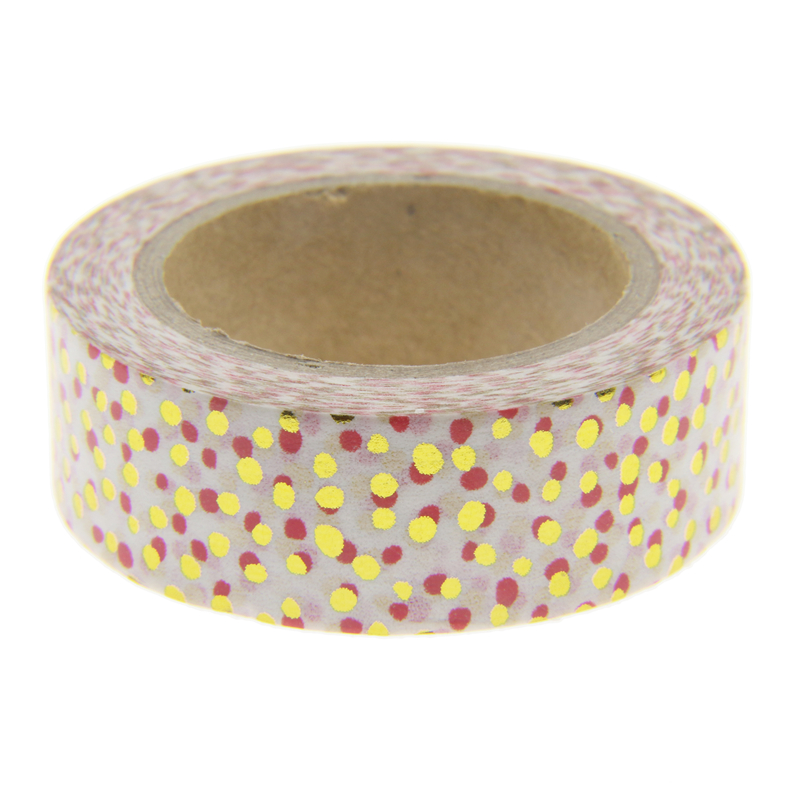 New Foil Washi Tape Office Adhesive Scrapbooking Tools Kawaii For Photo Album Cute Decorative Christmas Craft Gift Paper Crafts new foil washi tape point dot set adhesive kawaii scrapbooking tools for photo album cute decorative christmas gift paper crafts