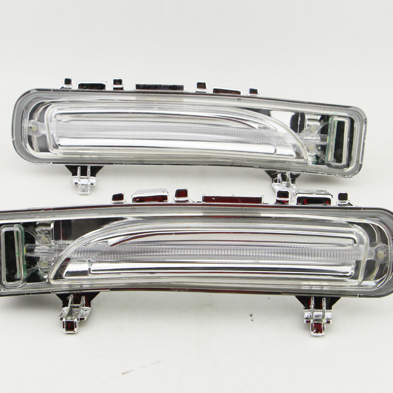 ФОТО 1 pair DRL Waterproof 12V LED Auto Car Daytime Running Lights FOR FORD Edge 2011 2012 2013