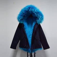 New design top quality thick warm winter fox fur coat women short fur parka Mr fur Mrs jacket free shipping