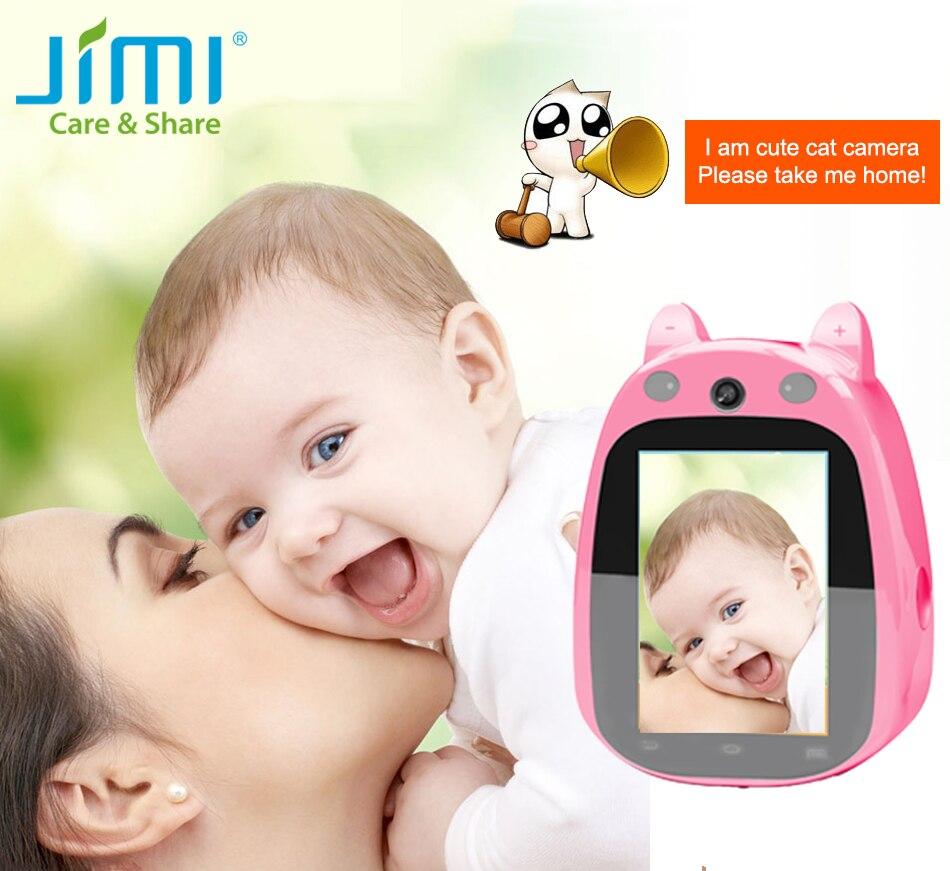 ФОТО Jimi JH168 Baby Monitor 3.5 Inch Screen Mini IP Camera Wifi Micro SD CCTV Security Camera Wireless Audio Surveillance Cam Video