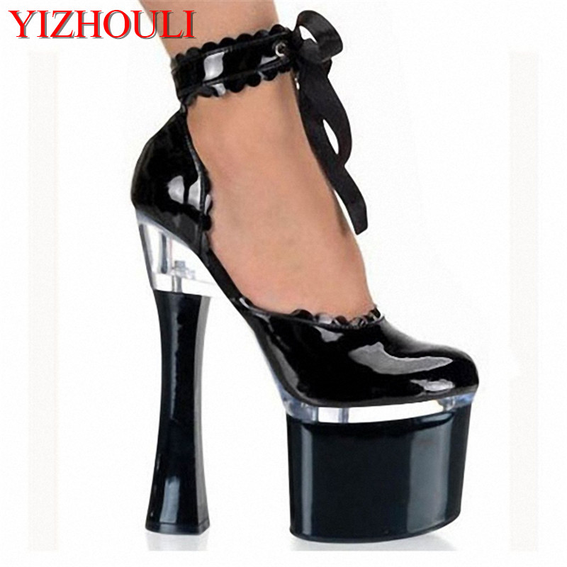 Office & School Supplies Professional Sale New Ladys Sexy 5 Inch High Heels Dance Shoes 13 Cm High Heels Sandals Womens Night Club Pole Dancing Shoes N-033