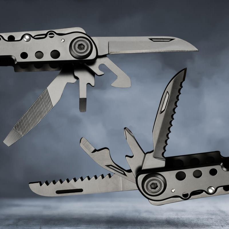Többfunkciós zseb-összecsukható fogó kemping túlélő kés - Kézi szerszámok - Fénykép 4