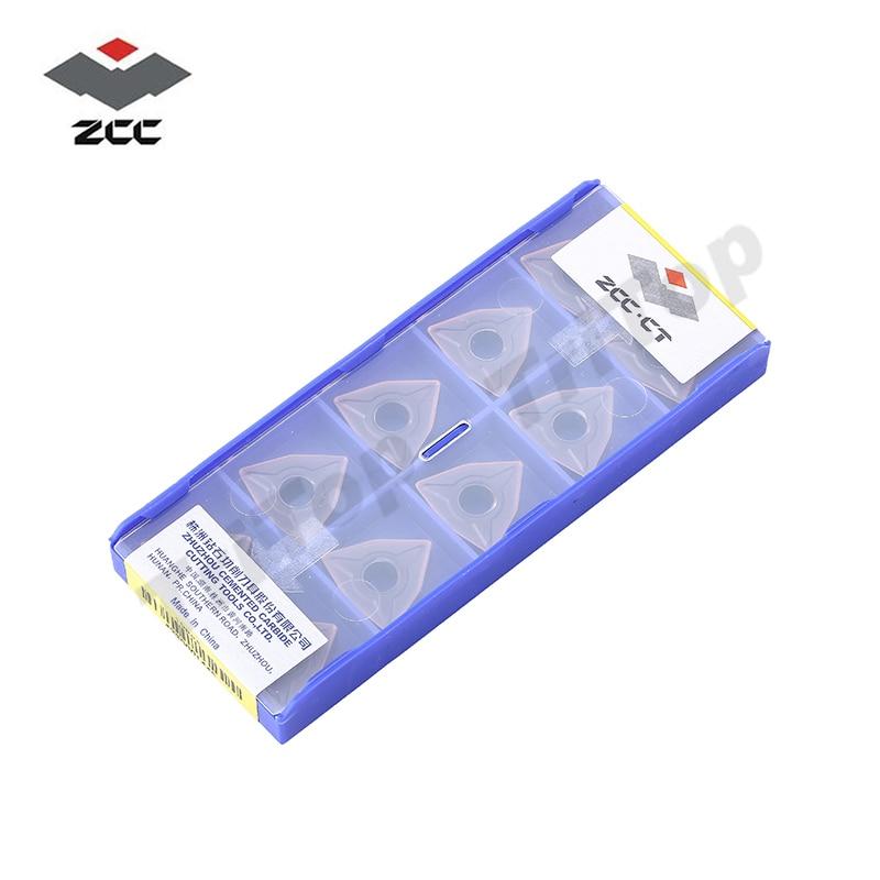 ENVÍO GRATIS WNMG 080408 -EM YBG205 zcc.ct Insertos WNMG432 10PCS / - Máquinas herramientas y accesorios - foto 5