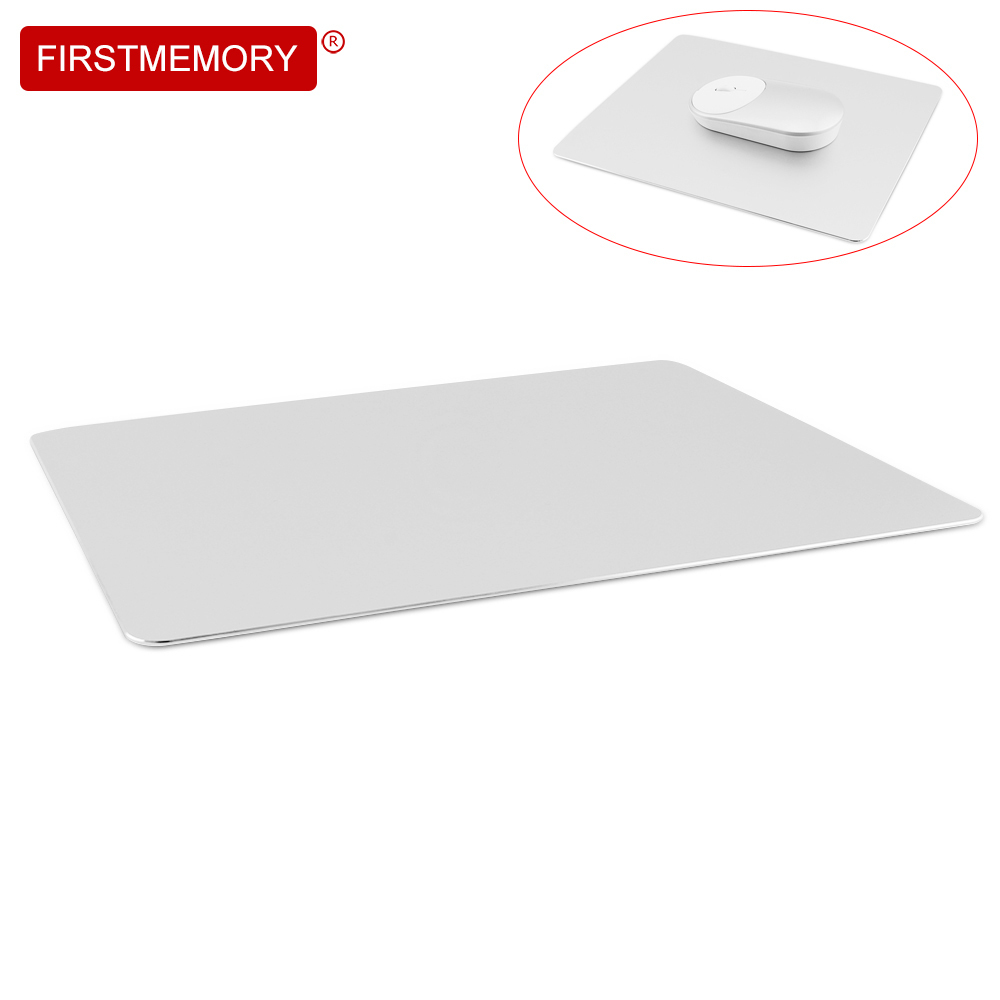 Firstmemory Aluminum Alloy Mouse Pad Metal Non-Slip Mat Ergonomic Water proof Tappetino For Mouse MackBook Pro Magic Home Office ...