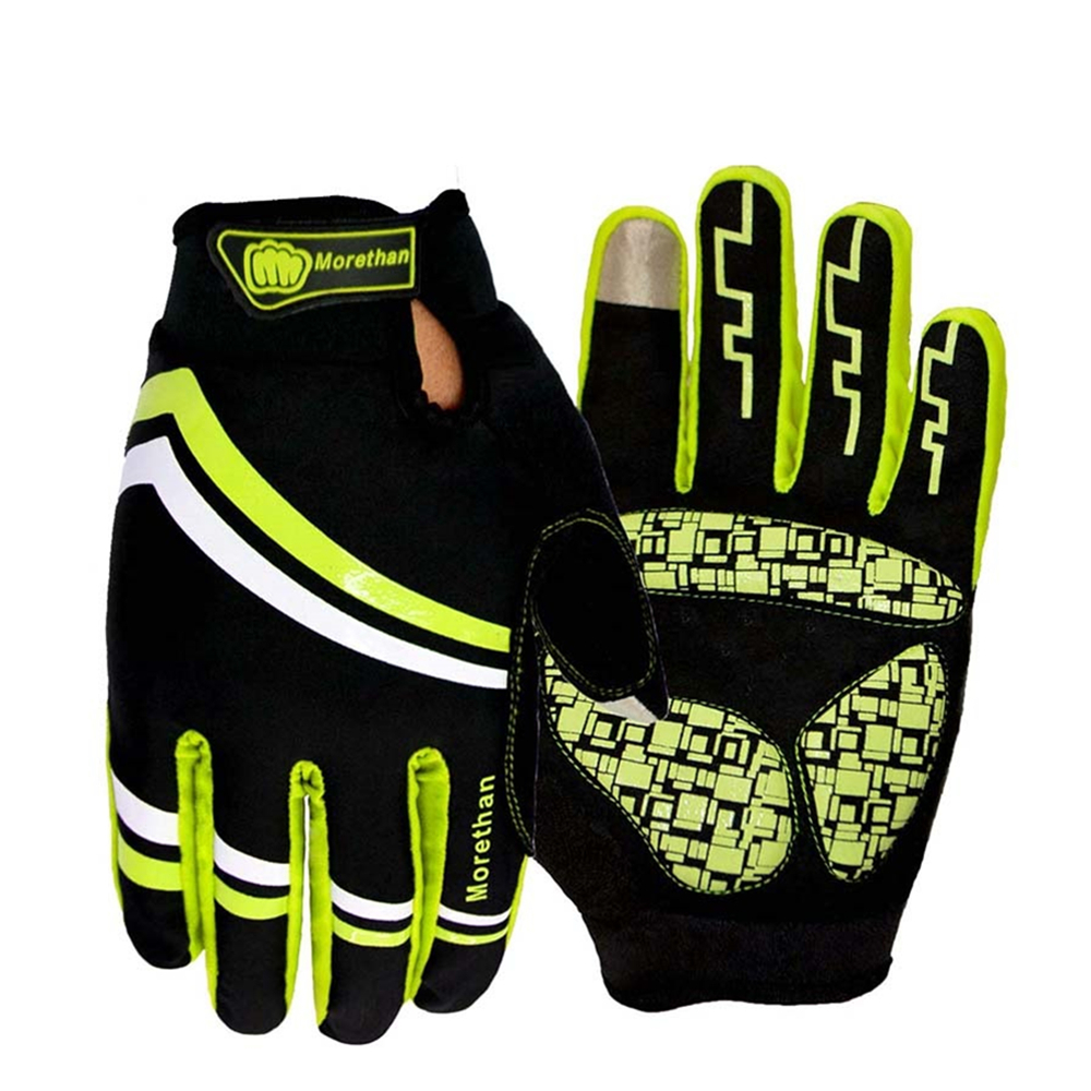 Ladies leather cycling gloves - 2016 Long Finger Cycling Glove Gel Mountain Bike Bicycle Gloves For Man Woman Mtb Bmx Road Motocross Gloves Guantes Ciclismo