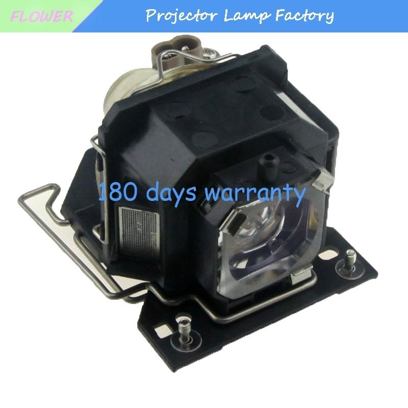 DT00781 CP-X1 CP-X2 CP-X4 CP-X253 CP-RX70 HCP-60X HCP-70X HCP-75X HCP-76X ED-X20 ED-X22 MP-J1EF Lâmpada Do Projetor para Hitachi