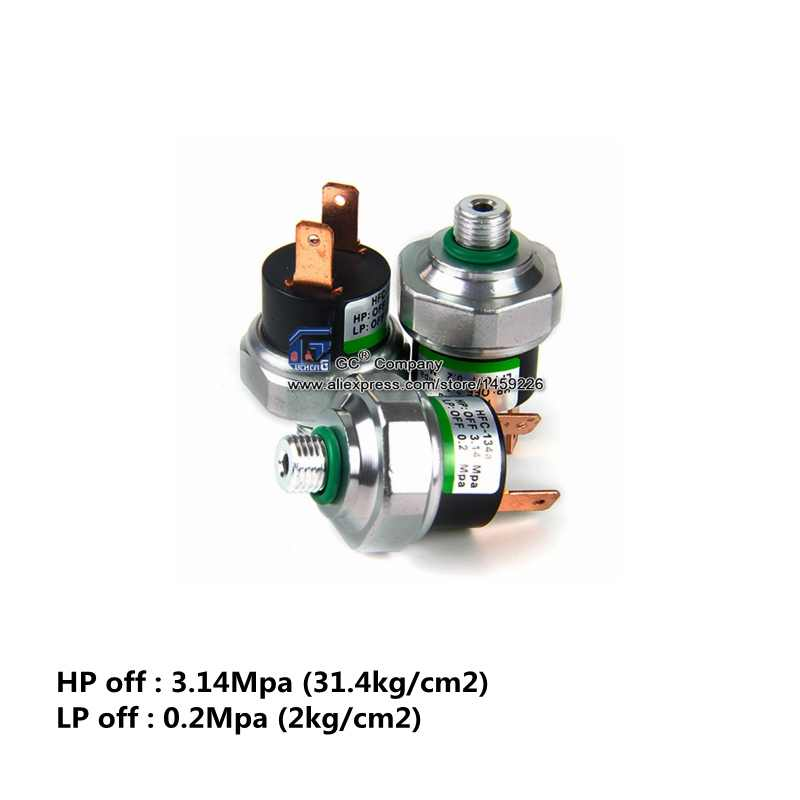 Universal R134a Binary High / Low Side Pressure Switch for A/C Air  Conditioning System ( 9 or 11mm )