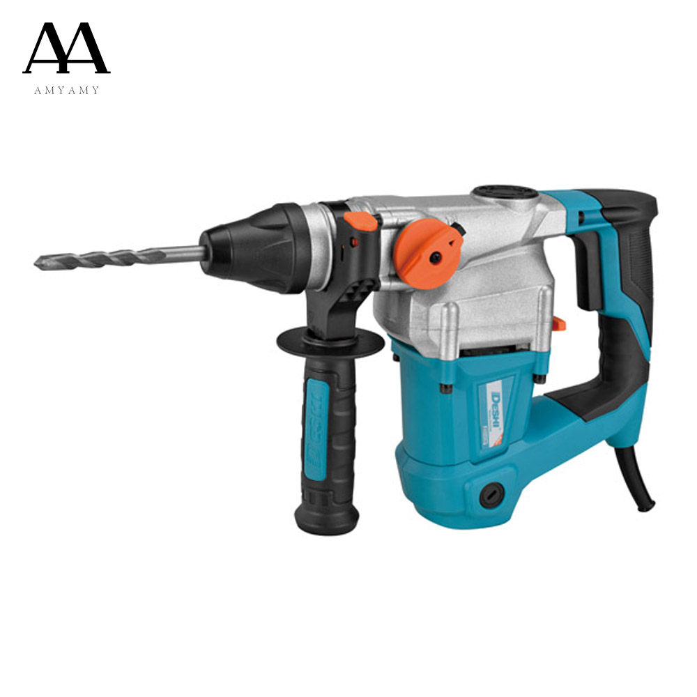 AMYAMY Electric Hammer professional robust power Electric power drill impact drill 800W 230V for drilling 25K dongcheng 220v 1010w electric impact drill darbeli matkap power drill stirring drilling 360 degree rotation power tools