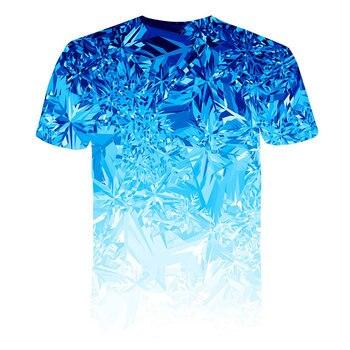 All Over Print Men Let It Snow - Mint Graphic T-Shirt 1