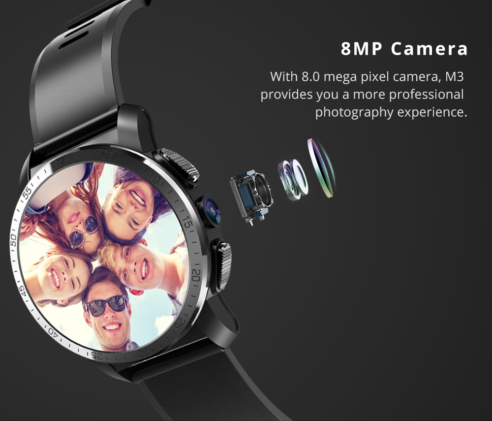 Makibes M3 4G Smart Watch 6